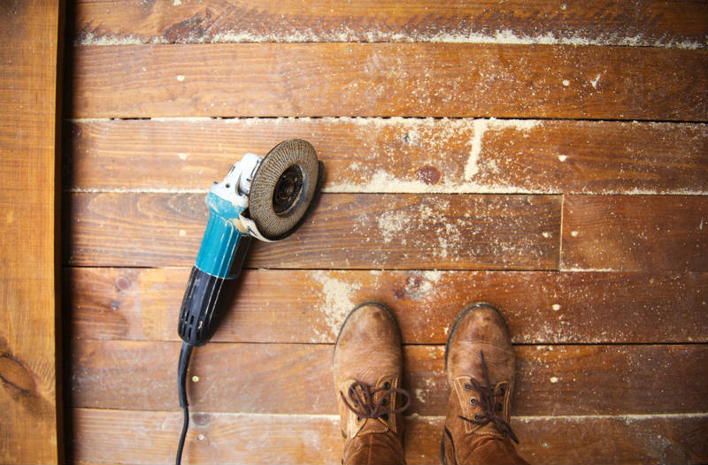Why DIY Floor Sanding is Never a Good idea